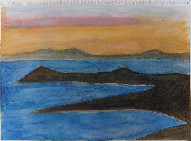 ים והרים (דמות שוכבת), אוסף יובל בן יעקב