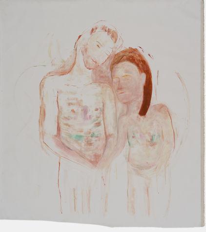 lovers 119X110 cm