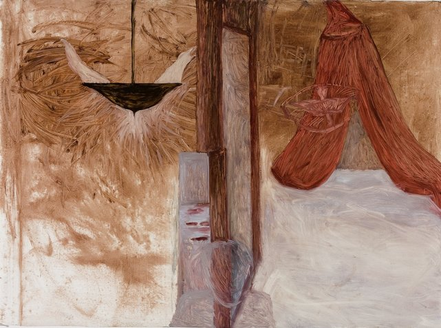 אמצע, 100x150 סמ, 2008
