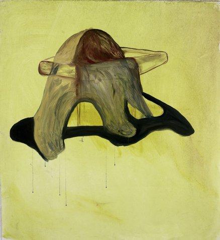 ילדה-מערה 101x110 סמ, 2008