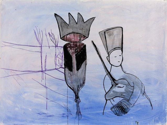 ילד ויוניקורן, 100x150 סמ, 2008