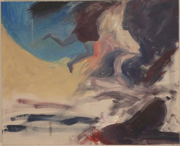 מושלכות, 40X50 סמ, 2009, אוסף שלמה גרוס