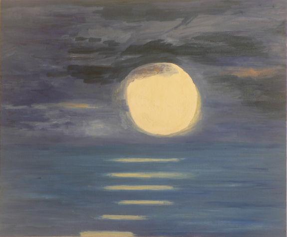 ירח מלא. אוסף פרטי