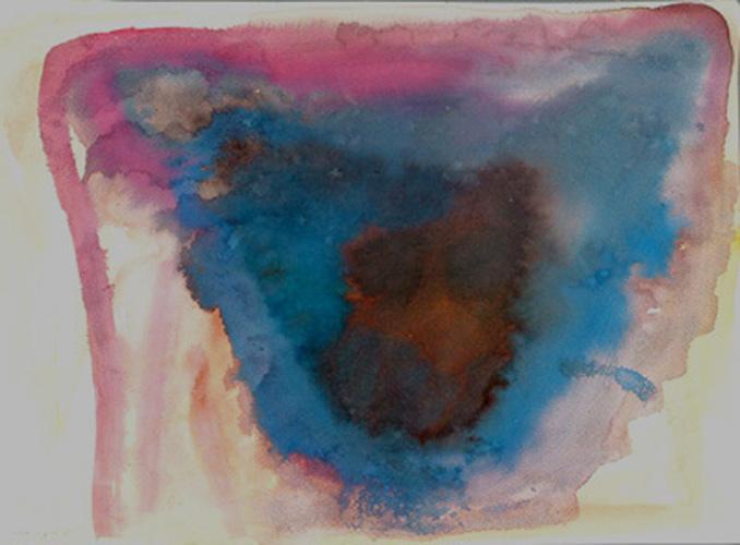 רוח כחולה, 30x41 סמ, 2004