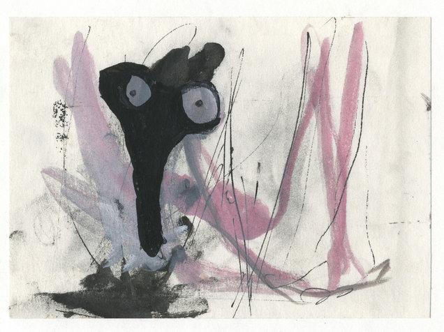 שד, 15x21 סמ, 2005, אוסף פרטי.