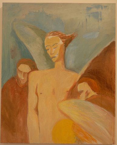 מלאכי אברהם, 45x54 סמ